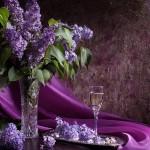 Виолетово вълшебство от цветя